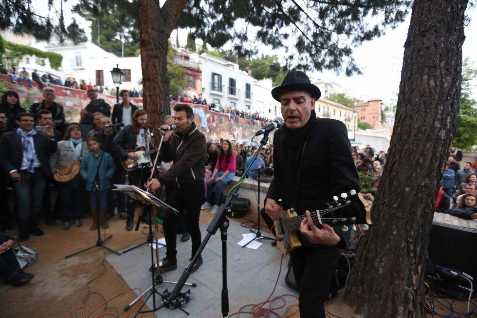 Un concierto en Granada en mayo de 2013.