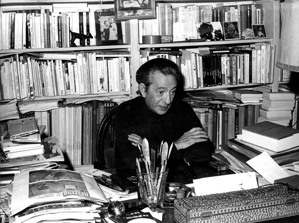 El político Dionisio Ridruejo, en 1979