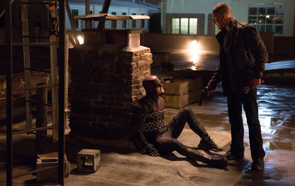 Punisher se enfrenta a Daredevil.
