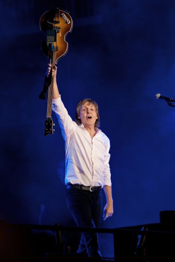 Paul McCartney, en un concierto en Grant Park (Chicago) el 31 de julio de 2015.