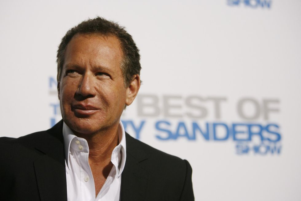 Garry Shandling, en un evento de la serie 'The Larry Sanders Show'.