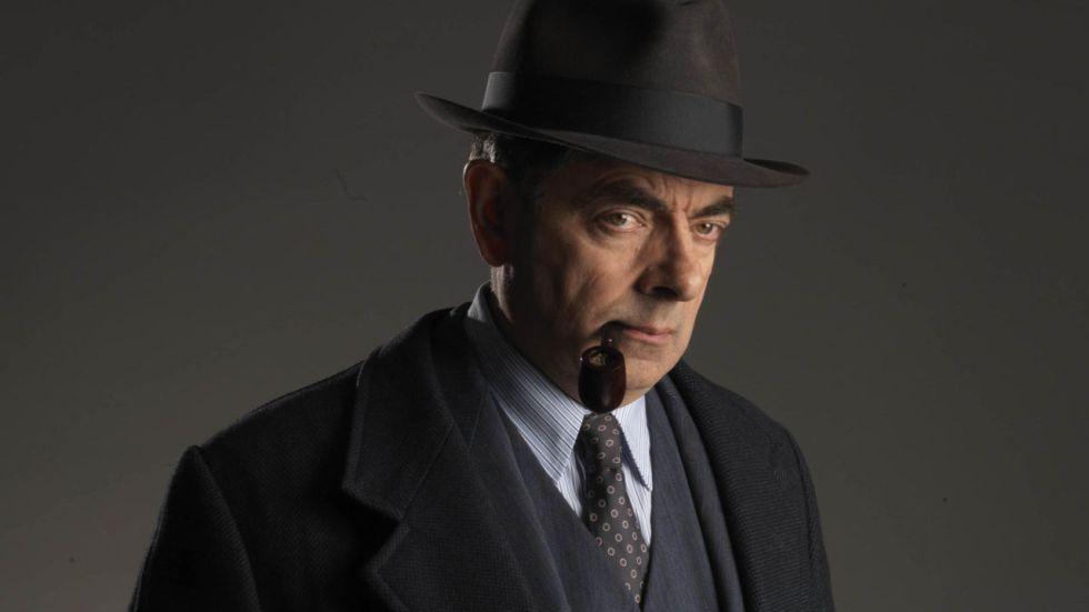 Rowan Atkinson, en el papel de Maigret.