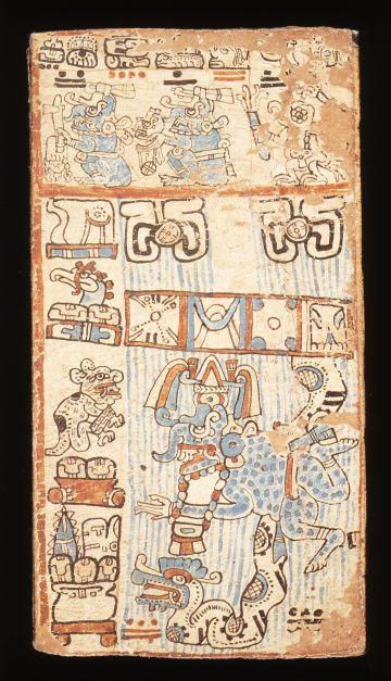 Una de las 112 páginas del códice Trocortesiano del siglo XV.