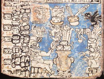 Detale de una página del códice Trocortesiano.