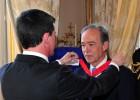 Francia impone a Marañón la medalla de la Legión de Honor