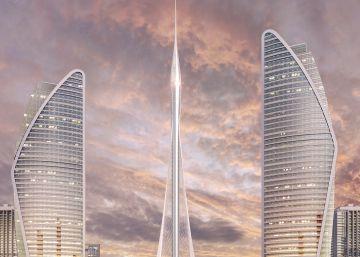 Calatrava se inspira en el lirio para la torre más alta del mundo