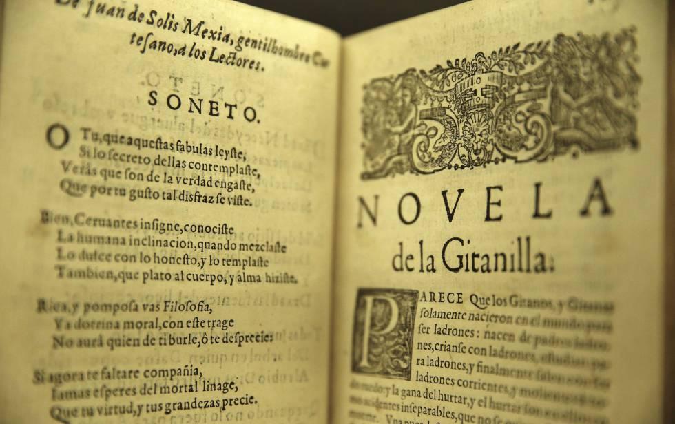 Edición de las 'Novelas ejemplares'.