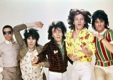 Los Rolling Stones como piezas de museo