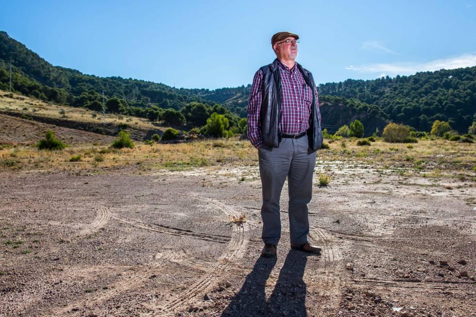 Miguel Caballero, uno de los investigadores que busca los restos de García Lorca, retratado en octubre de 2015.