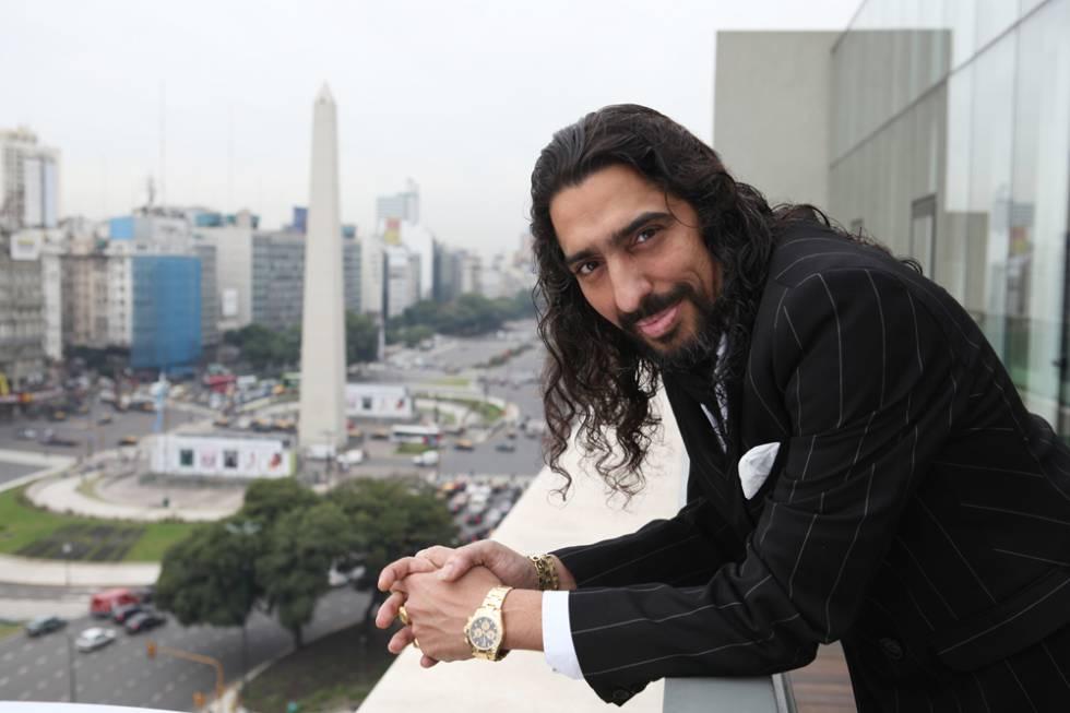 """Diego 'El Cigala' en su """"Buenos Aires querido""""."""