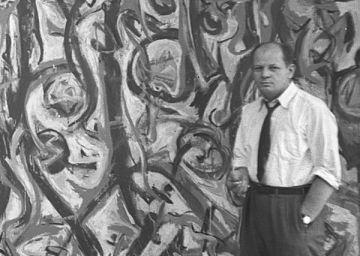 Picasso recibe a Pollock en casa