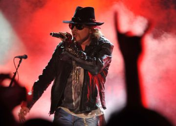 Axl Rose, líder do Guns n' Roses, será vocalista do AC/DC
