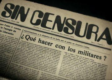 La dictadura argentina, en primera plana desde el exilio