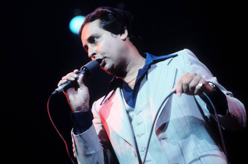 El cantante Ismael Quintana en una imagen de archivo.