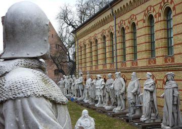 Lenin se convierte en pieza de museo en Berlín