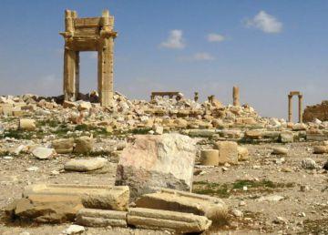 """La Unesco dice que Palmira """"mantiene gran parte de su integridad"""""""