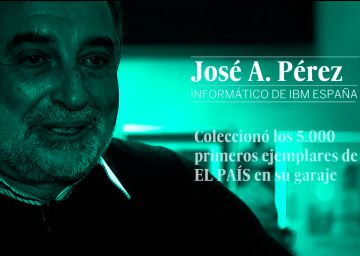 #ELPAÍSestuhistoria, con José Antonio Pérez, lector desde el primer ejemplar