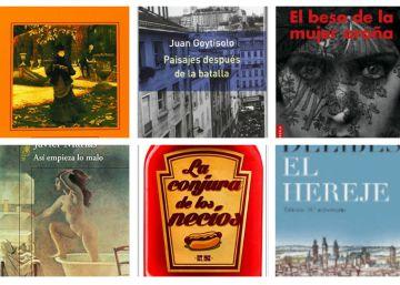 40 años de EL PAÍS en 40 libros