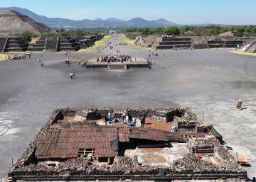 Un queso gruyer en Teotihuacan