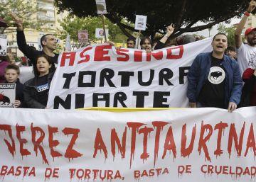 Los antitaurinos intentan impedir la corrida de José Tomás en Jerez