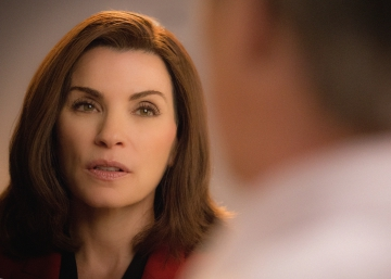 Llorando a 'The Good Wife'