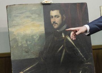 Recuperados en Ucrania cuadros robados de Rubens y Tintoretto