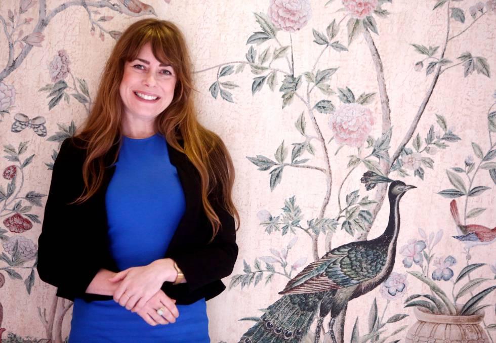 La escritora Kate Bolick, en Madrid.