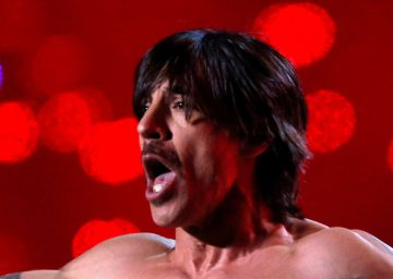 Anthony Kiedis, cantante de Red Hot Chili Peppers, hospitalizado