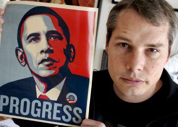 El artista del cartel más célebre de Obama critica su presidencia