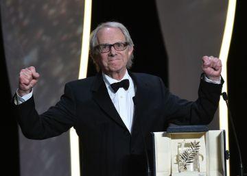 El inglés Ken Loach gana su segunda Palma de Oro por 'I, Daniel Blake'