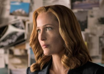Gillian Anderson en el episodio final de 'Expediente X'