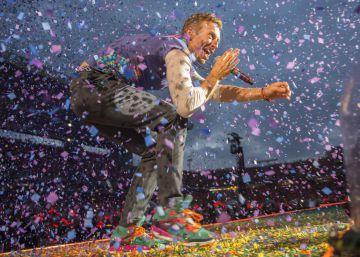 Coldplay tiñe el Estadio Olímpico con un baño de luz y de alegría vistosísimo