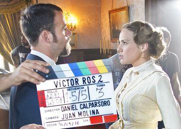 TVE comienza a grabar la segunda temporada de 'Víctor Ros'