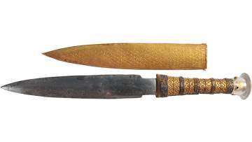 La daga de Tutankamón que procede de un meteorito.