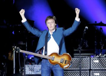 Paul McCartney despliega en Madrid su poderío rockero