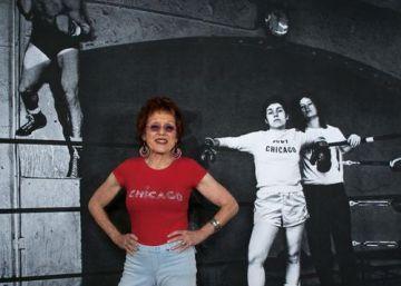 Judy Chicago: Bandera Roja