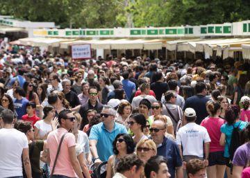 La Feria del Libro de Madrid sube un 3,5% sus ventas