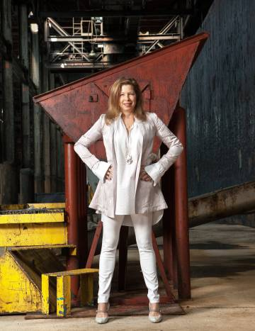 Anne Pasternak, directora del Museo de Brooklyn, primera mujer al frente de esa institución.