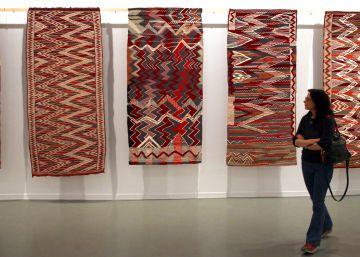 Teresa Lanceta teje un arte universal de raíz marroquí