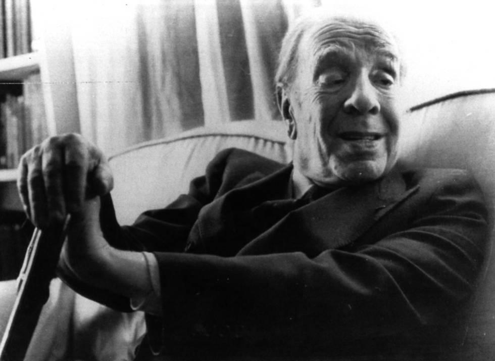 Jorge Luis Borges, en una imagen de agosto de 1983.