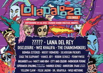 Lana del Rey, cabeza de cartel de Lollapalooza Colombia