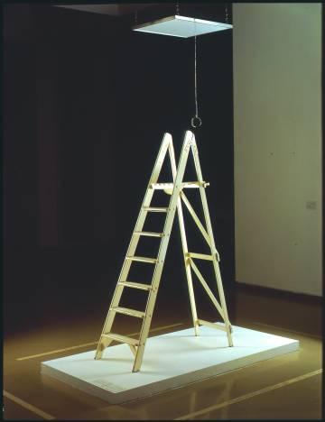 'Pintura de techo - Pintura SI', creada por Yoko Ono en 1966.