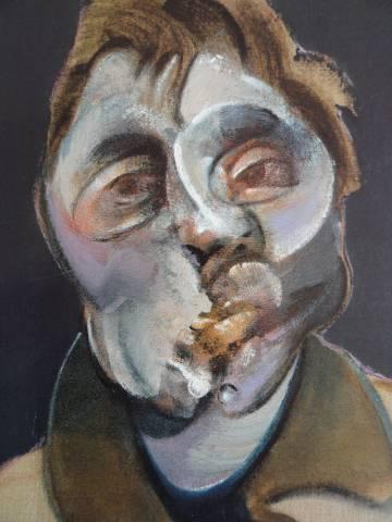 Autorretrato de Francis Bacon (1969).