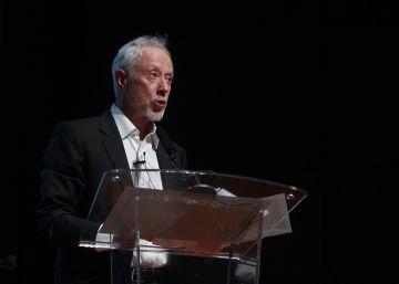 Coetzee en una conferencia este jueves el Centro de Arte Reina Sofía.