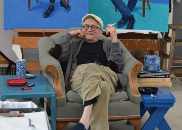 David Hockney y sus retratos 'antiselfies'