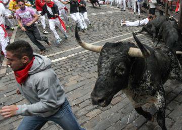 Sexto encierro de San Fermín 2016: rápido y noble