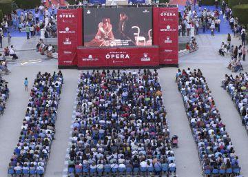 175.000 personas siguen por Facebook 'I puritani' desde el Teatro Real