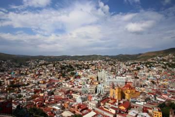 La ciudad mexicana de Guanajuato.
