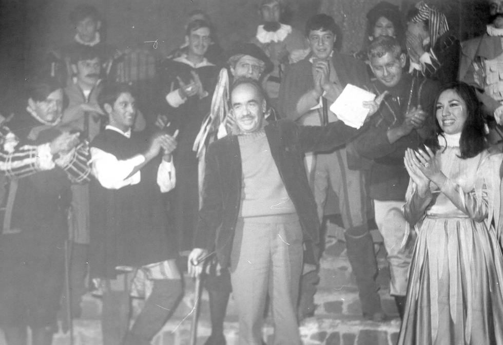 Enrique Ruelas en la representación de los 'Entremeses'
