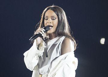 Rihanna llega a Barcelona con su 'turmix' sonoro